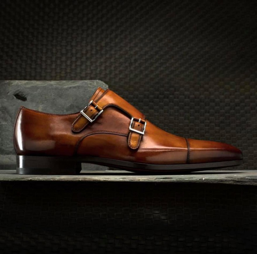 Leather shoes by Santoni