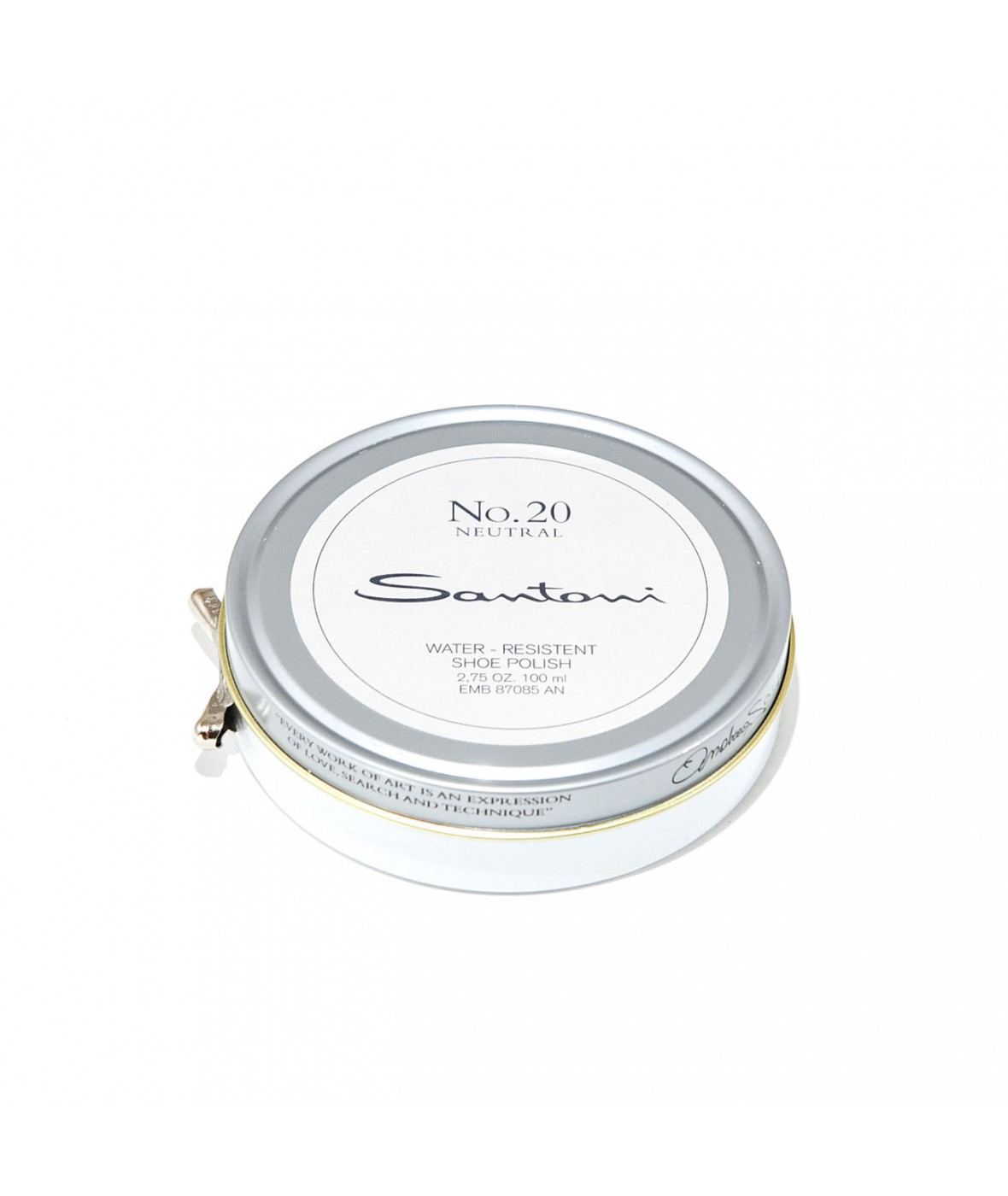 Santoni beeswax shoe polish (natural)