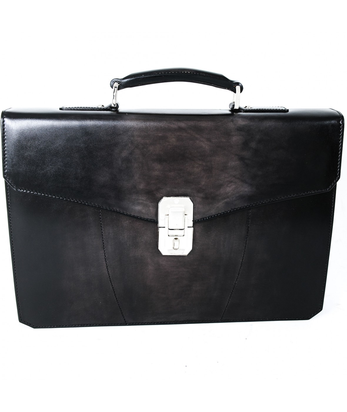 Santoni Office Bag Asphalt G80 (27811)