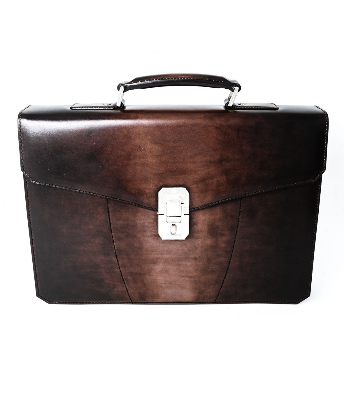 Santoni Porte-Documents Marron T50 (28096)