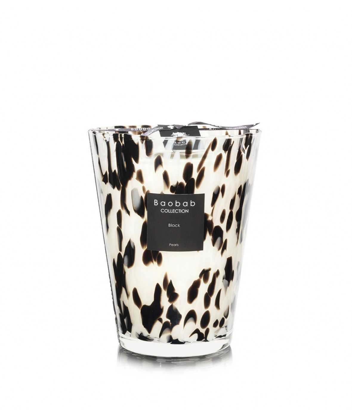 Baobap Scented Candle Black Pearls (Extra Large)