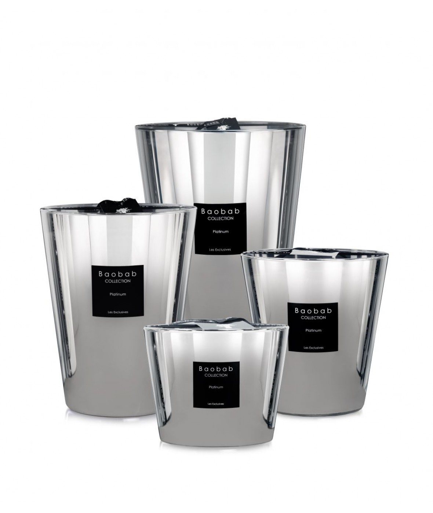 Baobap Scented Candles Platinum (Set)