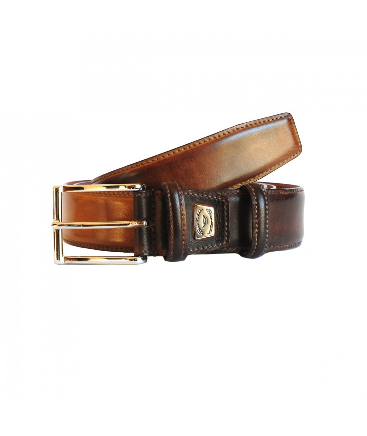 Santoni Belt Leather (387)