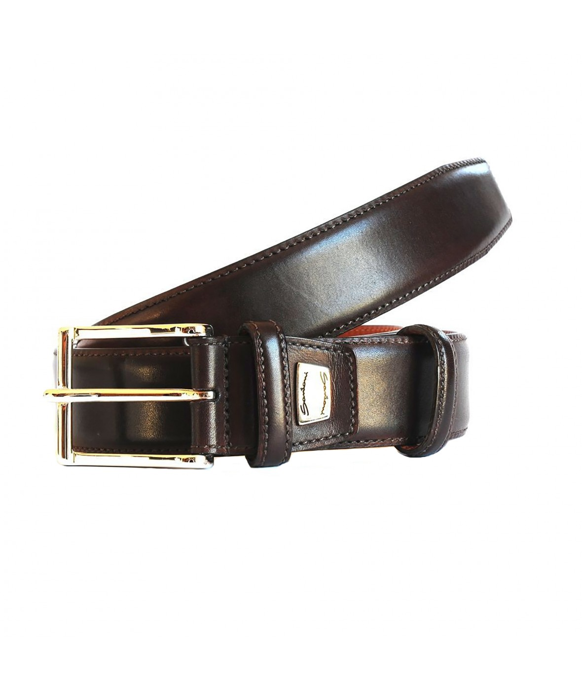 Santoni Belt Leather (386)