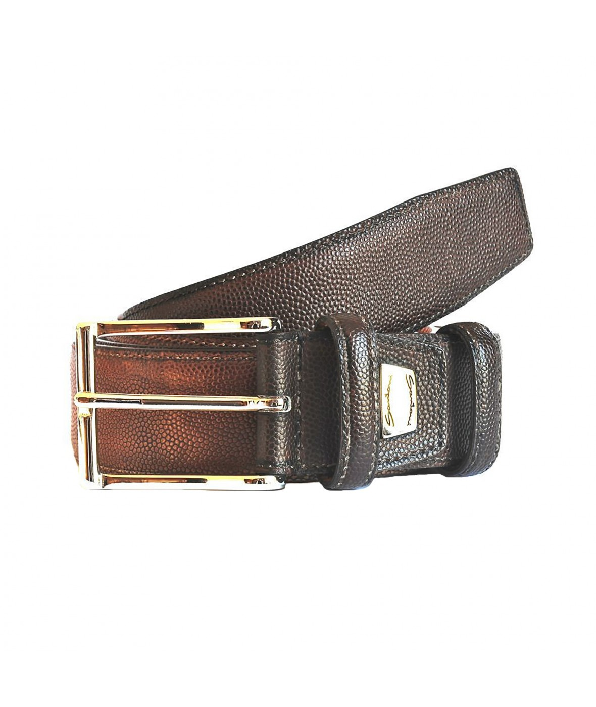 Santoni Belt Leather (384)