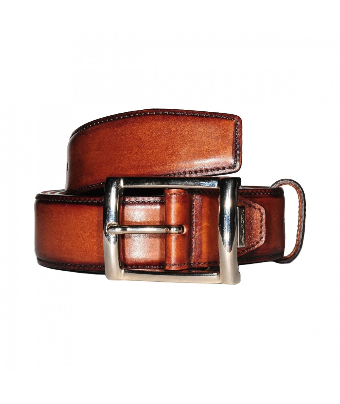 Santoni Belt Leather (358)