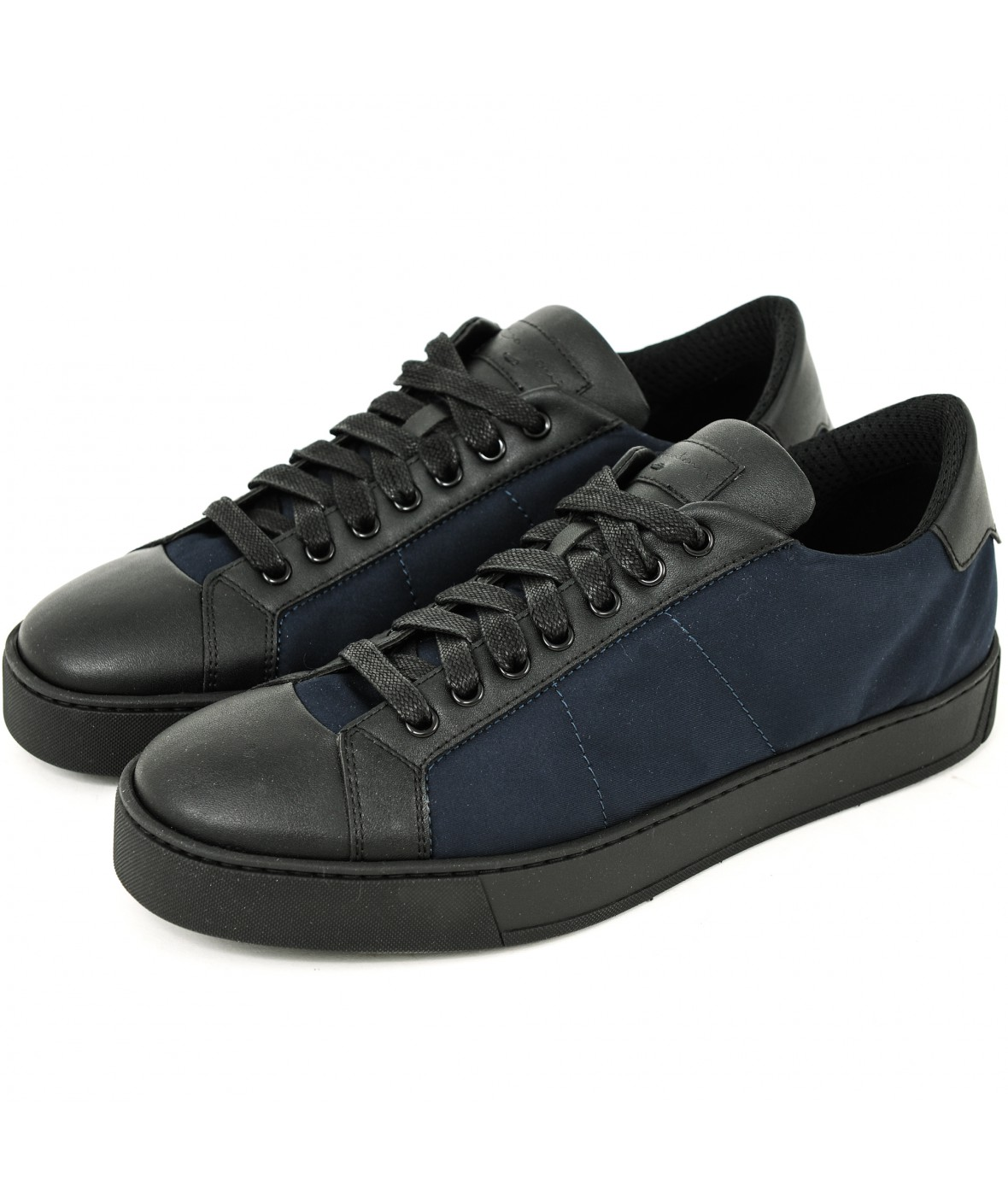 Santoni Rethink low  dark blue (33413)