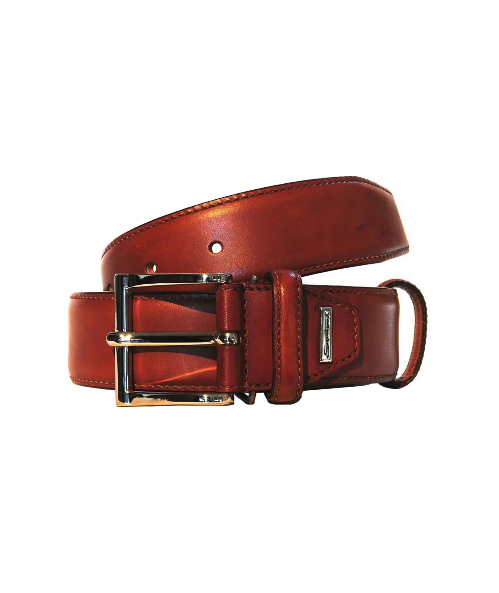 Santoni Belt Leather (372)
