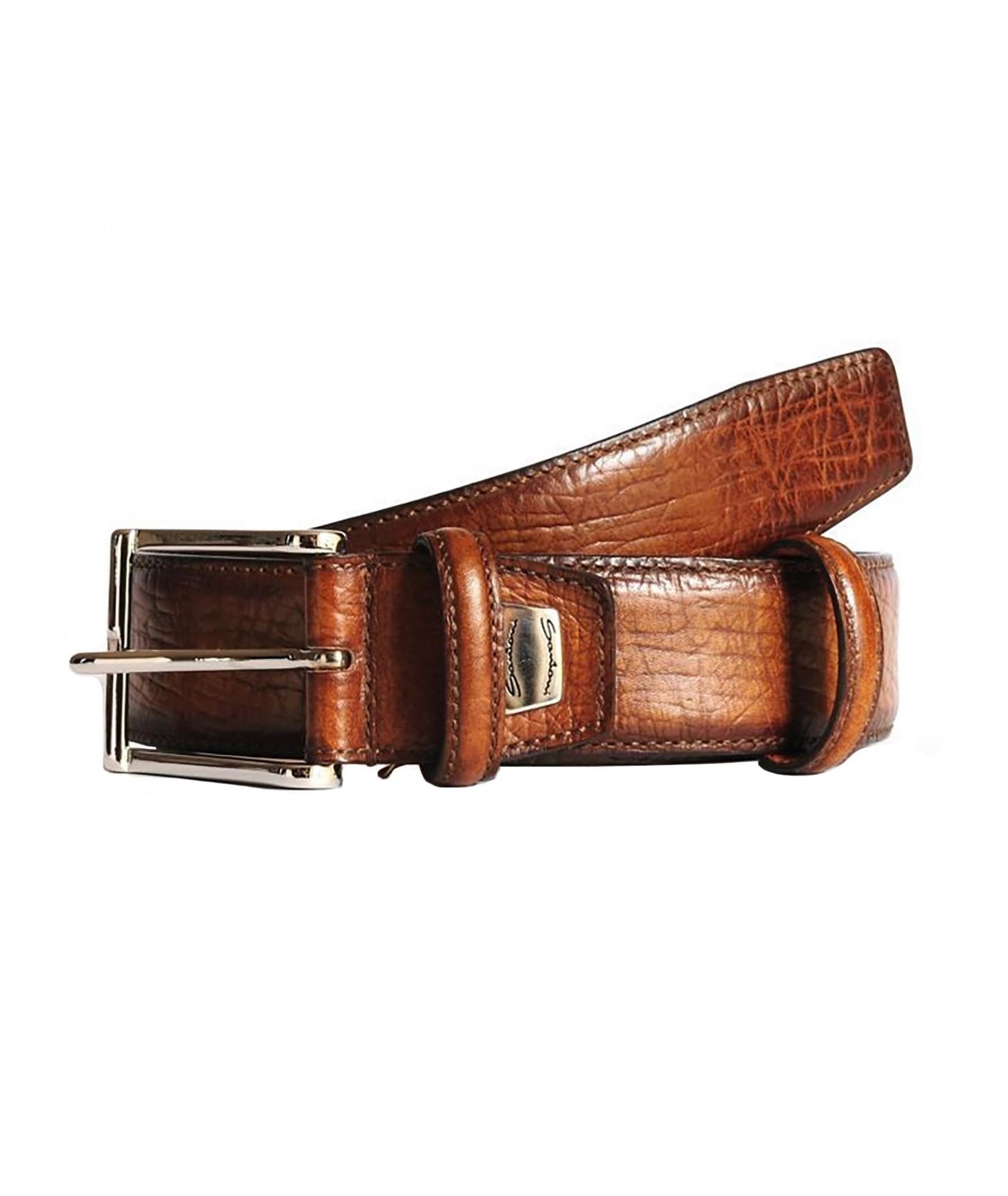 Santoni Belt Leather (420)