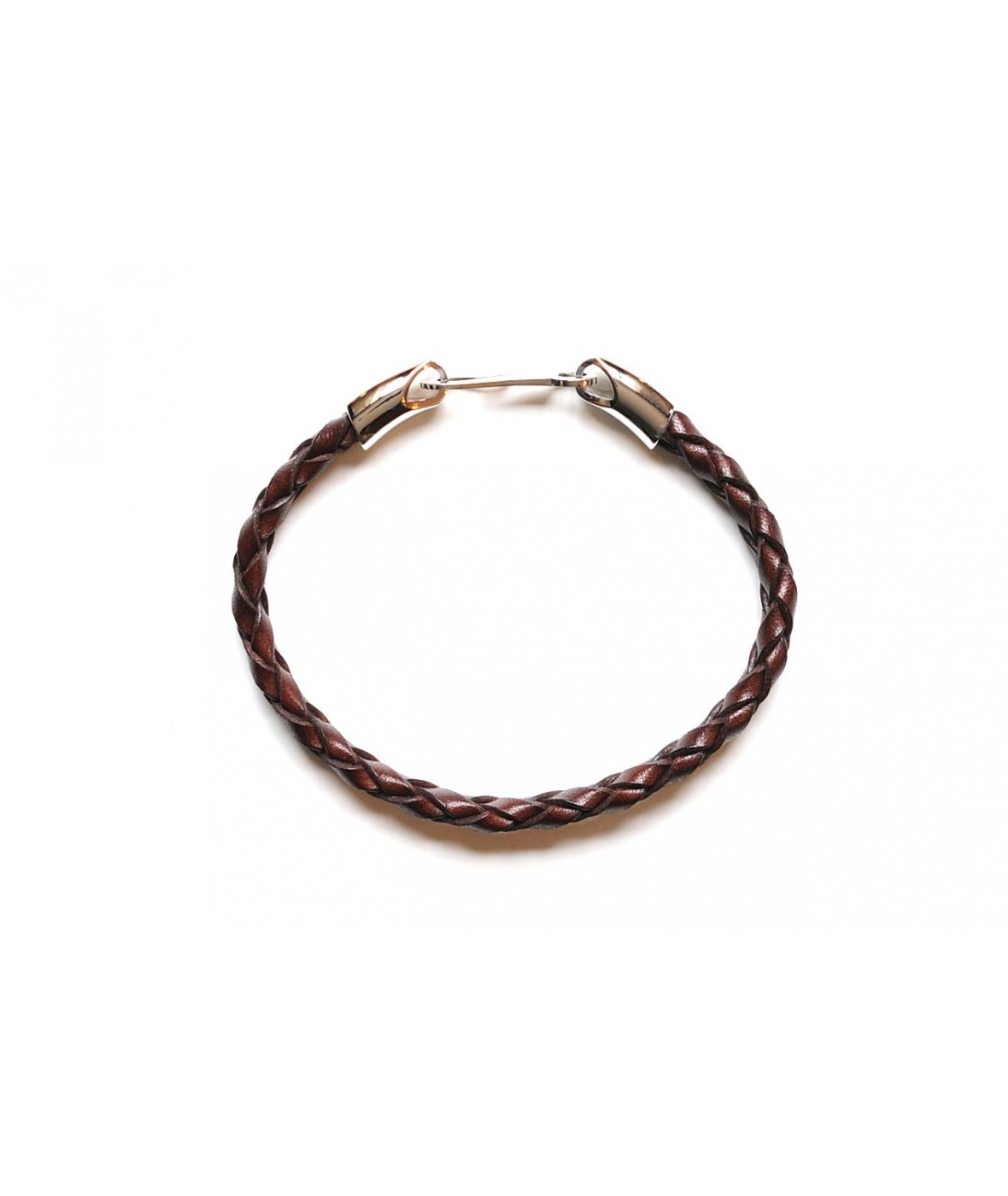 Santoni Bracelet Dark Brown