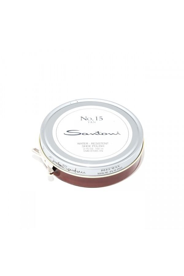 Santoni beeswax shoe polish (cognac)