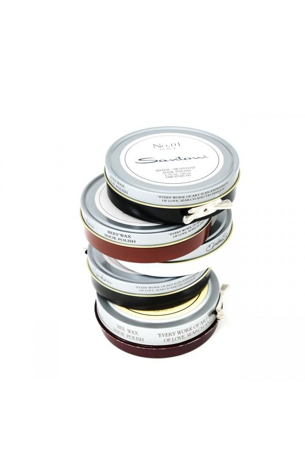 Santoni chaussure paquet de cinq couleurs