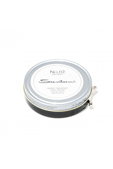Santoni beeswax shoe polish (brown)