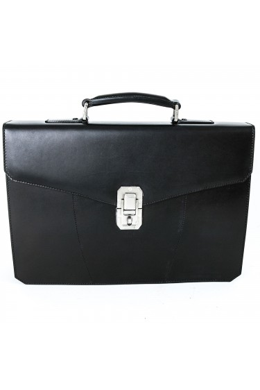 Santoni Office Bag Anthracite Grey (28605)