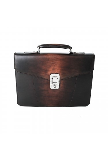 Santoni Ipad Bag Brown T45 (28607)