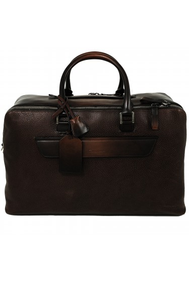 Santoni Travel Bag Dark Brown (31844)