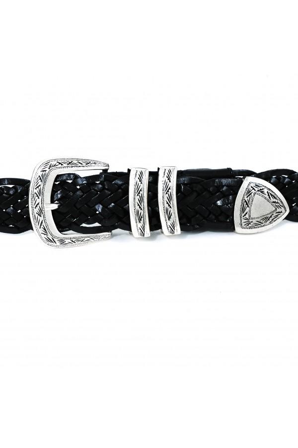 Brunello belt soft nero (35112)